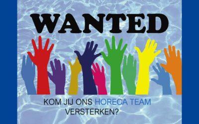 Vacature vrijwilliger horeca team