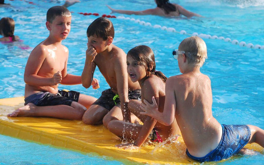 Contact header - Zwembad in de Dennen